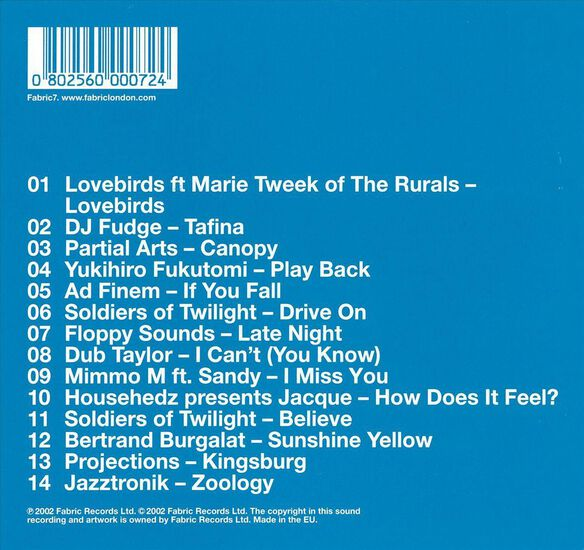Fabriclive 04 0502