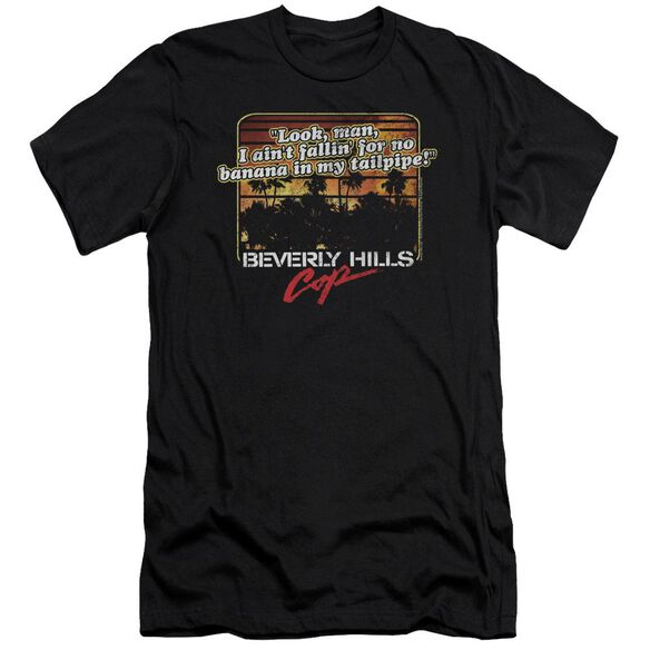 Beverly Hills Cop Banana In My Tailpipe Short Sleeve Adult T-Shirt