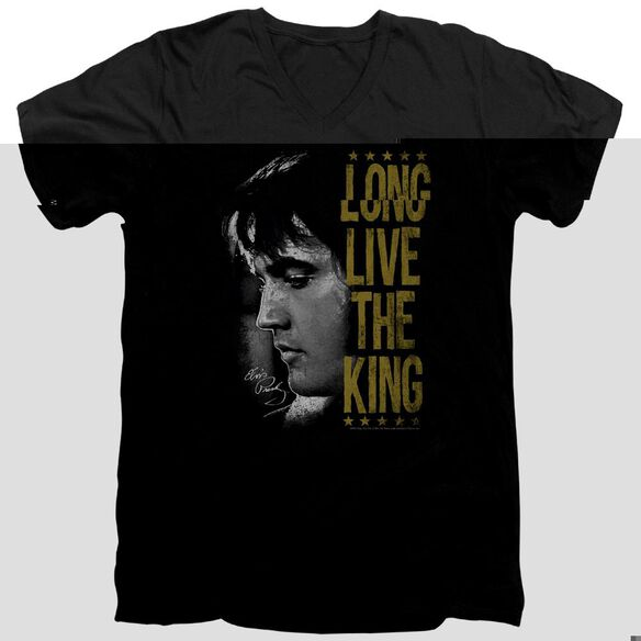 ELVIS PRESLEY LONG LIVE THE KING-S/S ADULT T-Shirt