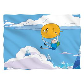 Adventure Time Balloon (Front Back Print) Pillow Case White