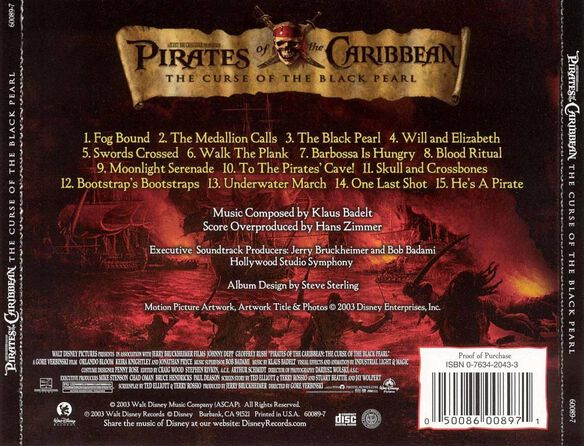 Pirates Of The Caribbean (Score) / O.S.T.