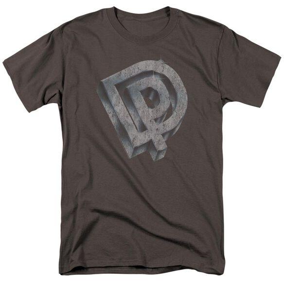 Deep Purple Dp Logo Short Sleeve Adult T-Shirt