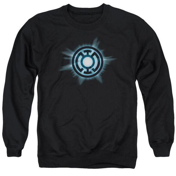 Green Lantern Blue Glow Adult Crewneck Sweatshirt