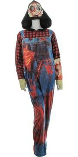Zombies Costume Hooded Union Suit