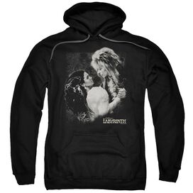 Labyrinth Dream Dance Adult Pull Over Hoodie Black