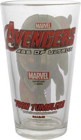 Avengers Age of Ultron Incredible Hulk Pint Glass