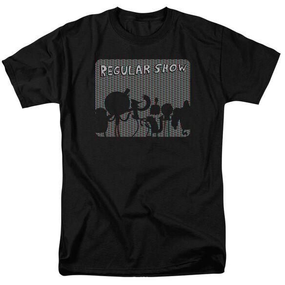Regular Show Rgb Group Short Sleeve Adult T-Shirt