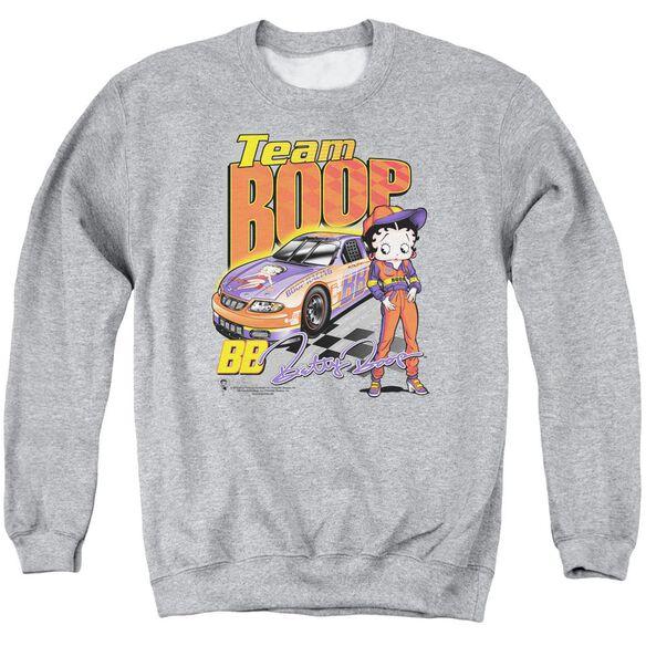 Betty Boop Team Boop Adult Crewneck Sweatshirt Athletic