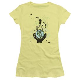 Everything Connected Short Sleeve Junior Sheer T-Shirt