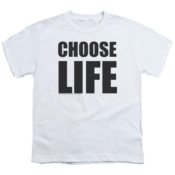 Wham Choose Life Short Sleeve Youth T-Shirt