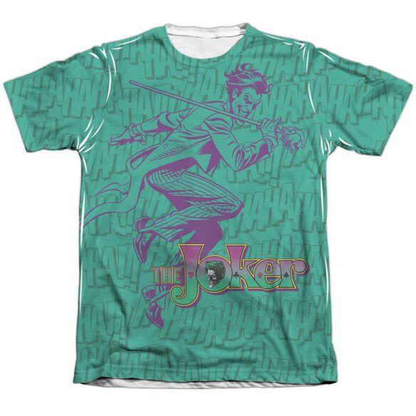 Batman Merriment Adult 65 35 Poly Cotton Short Sleeve Tee T-Shirt