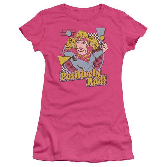 Dc Positively Rad Short Sleeve Junior Sheer Hot T-Shirt
