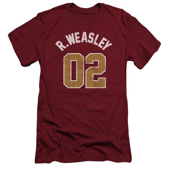 Harry Potter Weasley Jersey Hbo Short Sleeve Adult T-Shirt