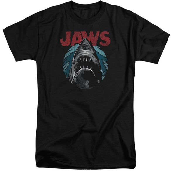 Jaws Water Circle Short Sleeve Adult Tall T-Shirt
