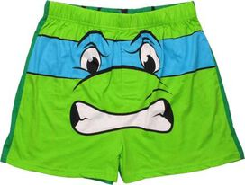 Ninja Turtles Leonardo Shell Back Boxers