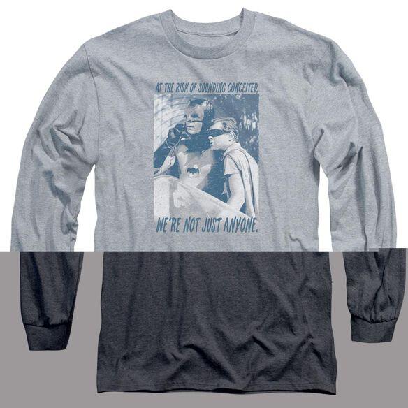 BATMAN CLASSIC TV BOOGIE NIGHTS-L/S ADULT T-Shirt