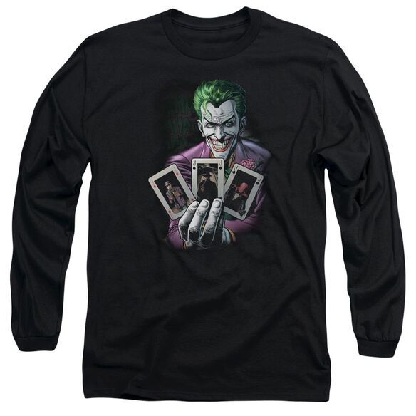 Batman Of A Kind Long Sleeve Adult T-Shirt