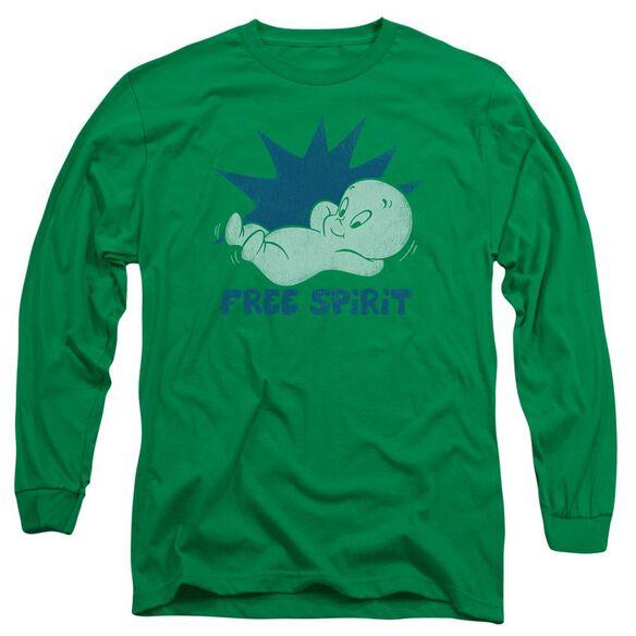 Casper Free Spirit Long Sleeve Adult Kelly T-Shirt