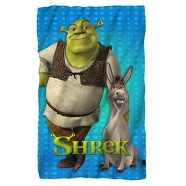 Shrek Pals Fleece Blanket