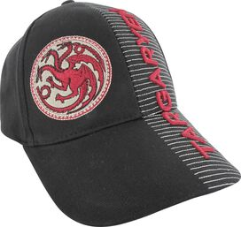 Game of Thrones Targaryen Split Logo Name Hat