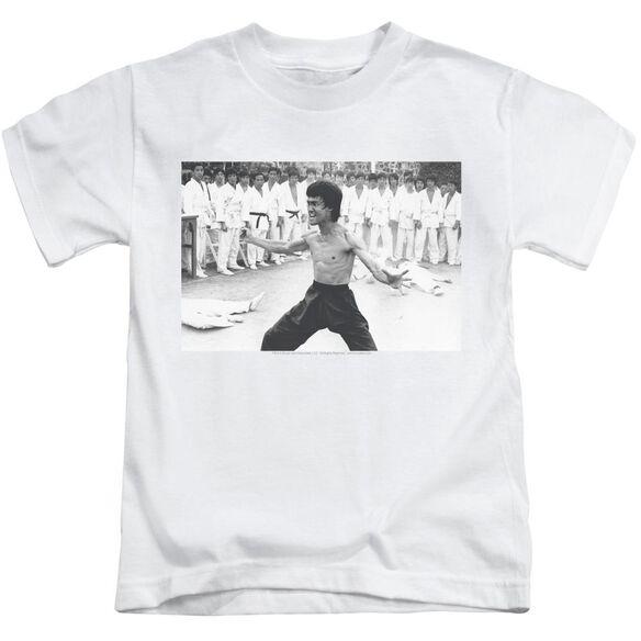 Bruce Lee Triumphant Short Sleeve Juvenile T-Shirt