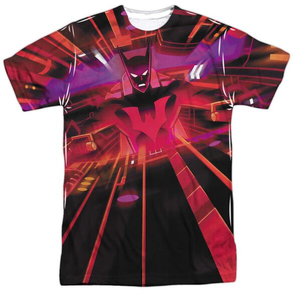 Batman Beyond Batmobile Interior Short Sleeve Adult Poly Crew T-Shirt