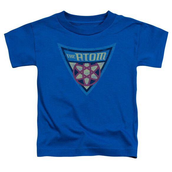 Batman Bb The Atom Shield Short Sleeve Toddler Tee Royal Blue Lg T-Shirt