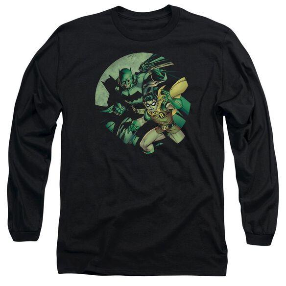 Batman Batman And Robin Long Sleeve Adult T-Shirt