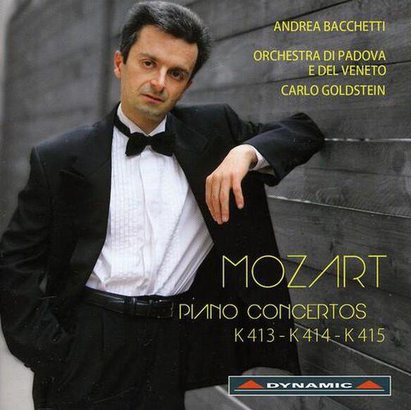 Piano Concertos K413 & K414 & K415