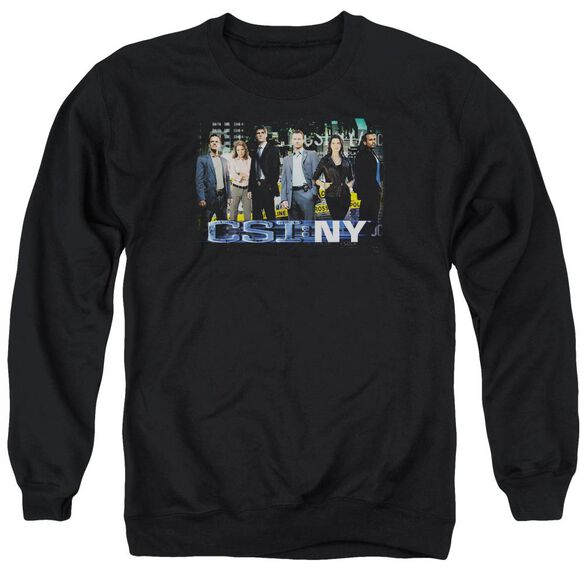 Csi Ny Cast Adult Crewneck Sweatshirt
