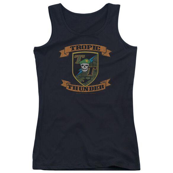Tropic Thunder Patch Juniors Tank Top