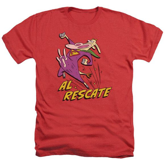Cow And Chicken Al Rescate Adult Heather