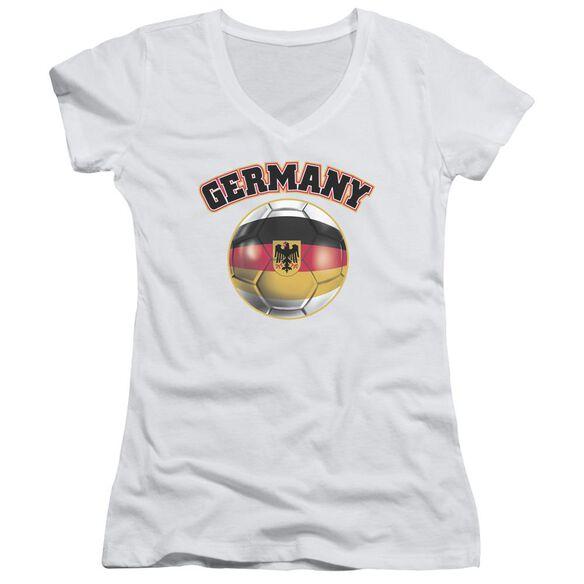 Germany Junior V Neck T-Shirt
