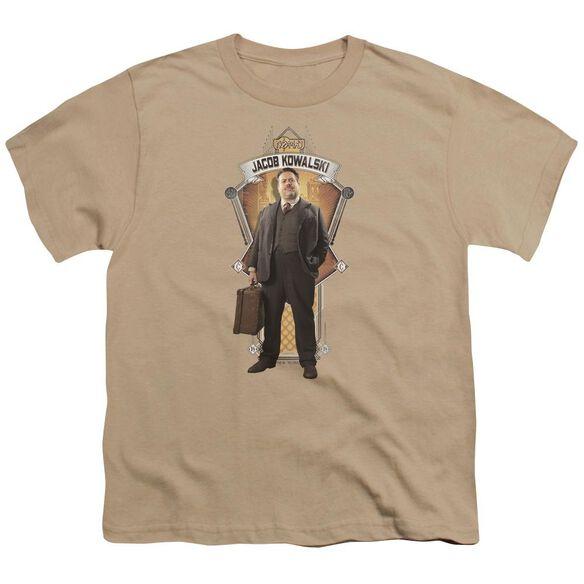 Fantastic Beasts Jacob Kowalski Short Sleeve Youth T-Shirt