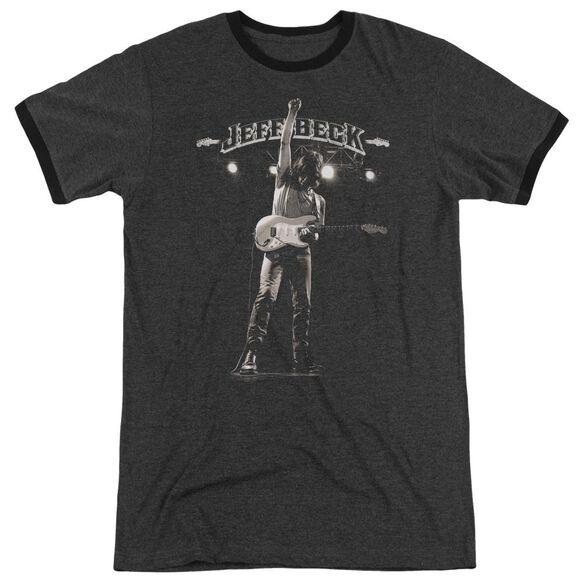 Jeff Beck Guitar God Adult Heather Ringer Charcoal