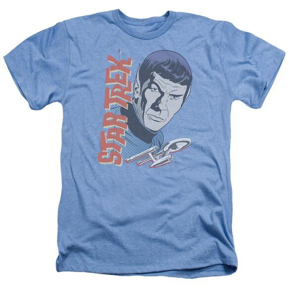 Star Trek Vintage Spock Adult Heather Light