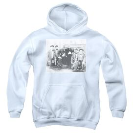Three Stooges Hello-youth Pull-over Hoodie - White