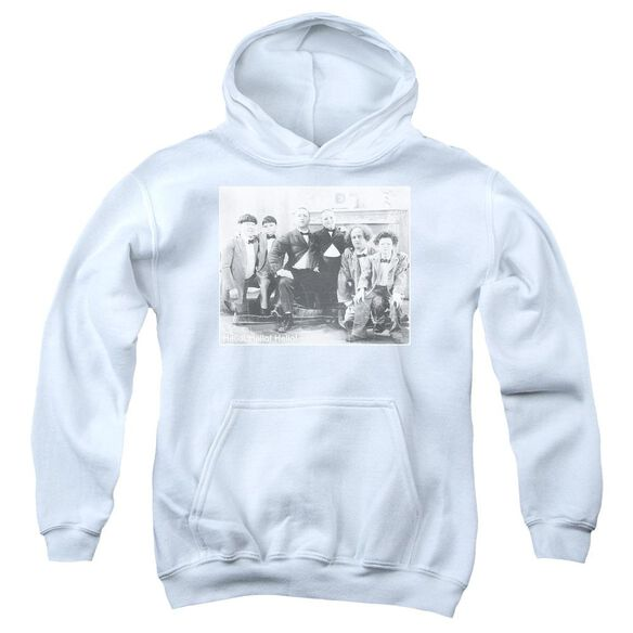 Three Stooges Hello Youth Pull Over Hoodie