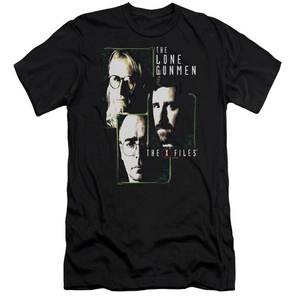 X Files Lone Gunmen-premuim Canvas Adult Slim