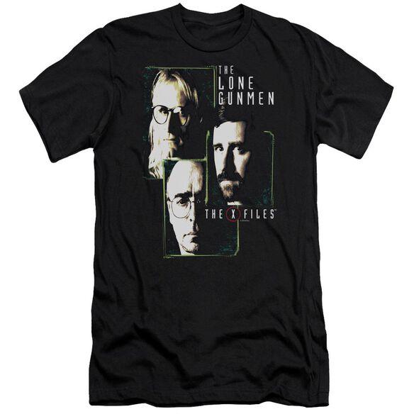 X Files Lone Gunmen-premuim Canvas Adult Slim