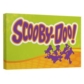 Scooby Doo Running Scared Quickpro Artwrap Back Board