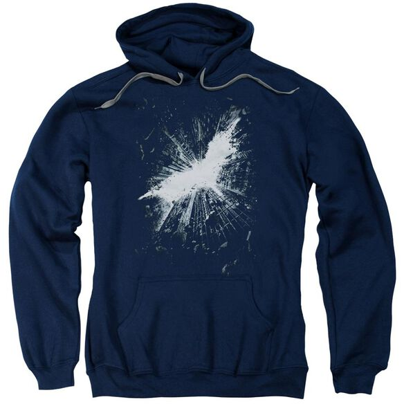 Dark Knight Rises Teaser Poster Adult Pull Over Hoodie