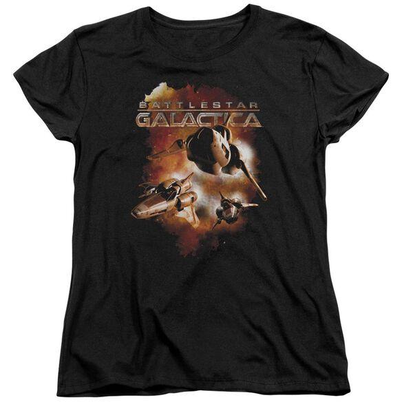 Battlestar Galactica (New) Vipers Stretch Short Sleeve Womens Tee T-Shirt