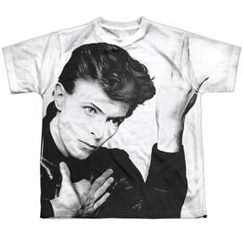 David Bowie Hero Short Sleeve Youth Poly Crew T-Shirt