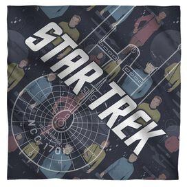 Star Trek Enterprise Crew Bandana White