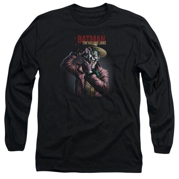 Batman Killing Joke Camera Long Sleeve Adult T-Shirt
