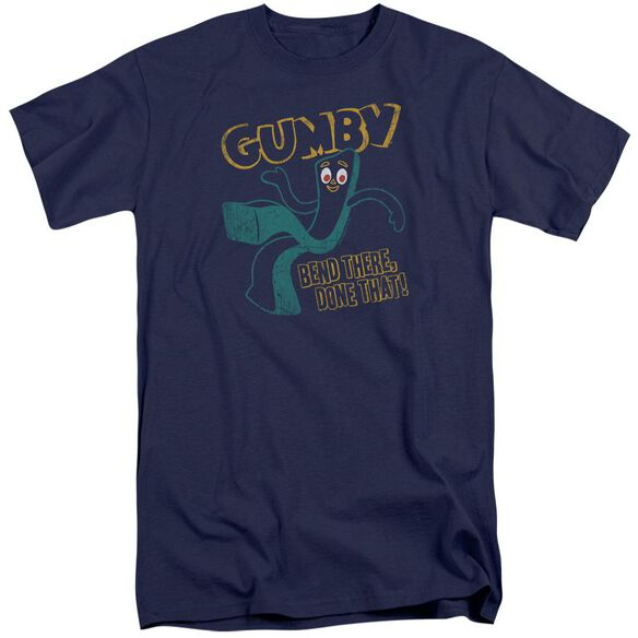 Gumby Bend There Short Sleeve Adult Tall T-Shirt