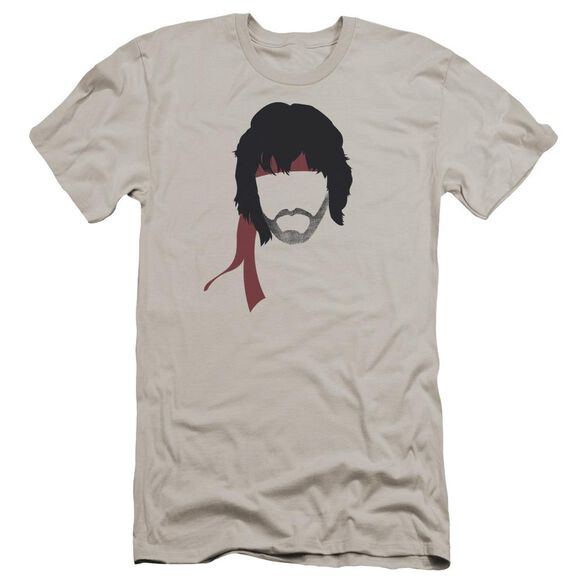 Rambo:First Blood Ii Hair Premuim Canvas Adult Slim Fit