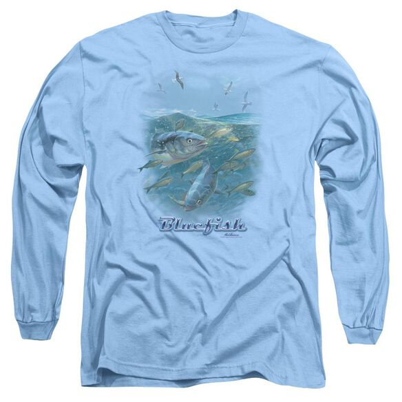 Wildlife Mayhem Long Sleeve Adult Carolina T-Shirt