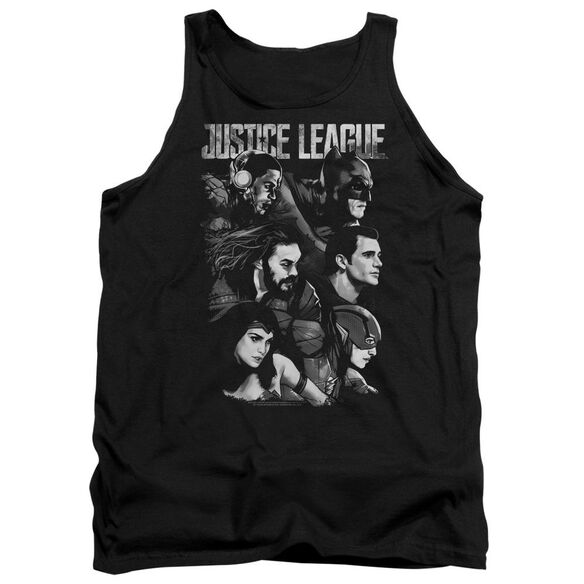 Justice League Movie Pushing Forward Adult Tank